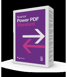 PDF-verwerking: Nuance Power PDF Standard 3.0 1PC Windows