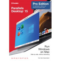 Parallels Desktop 15 PRO - 1Year - Home users & Professionals